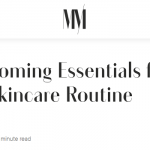 the best men's skin care routine