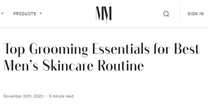 A Effective However Straightforward Guy's Skin Care Regimen